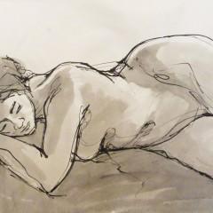 Reclining Figure Illustration