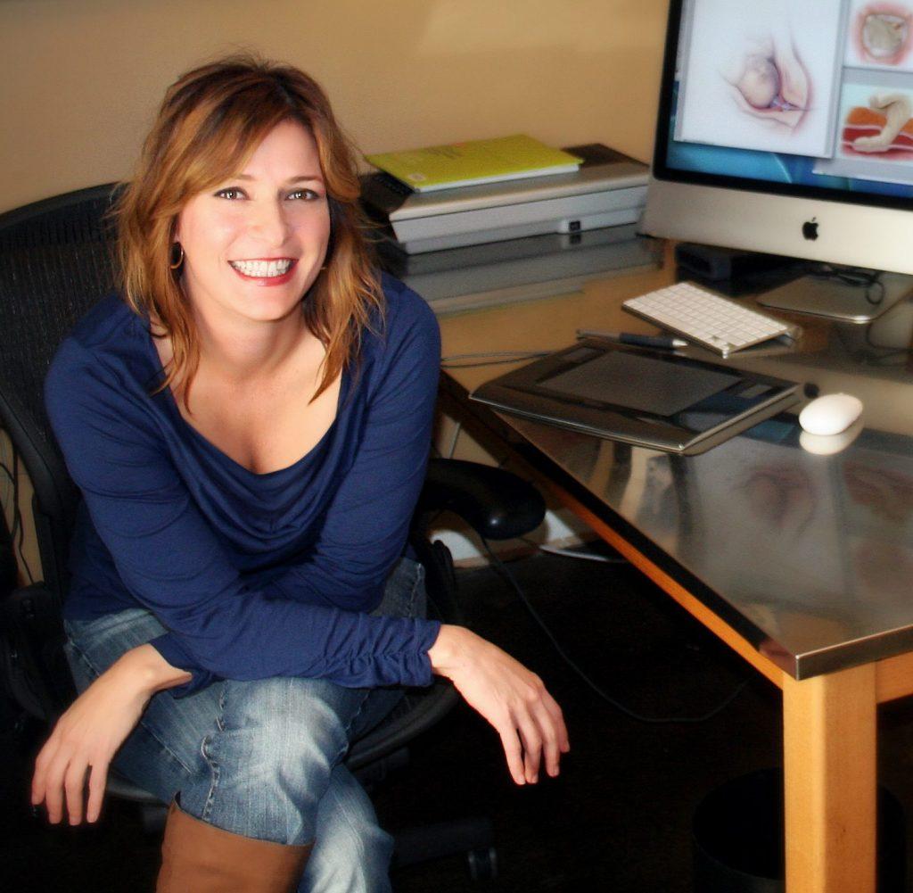 Lisa Clark, Medical Illustrator